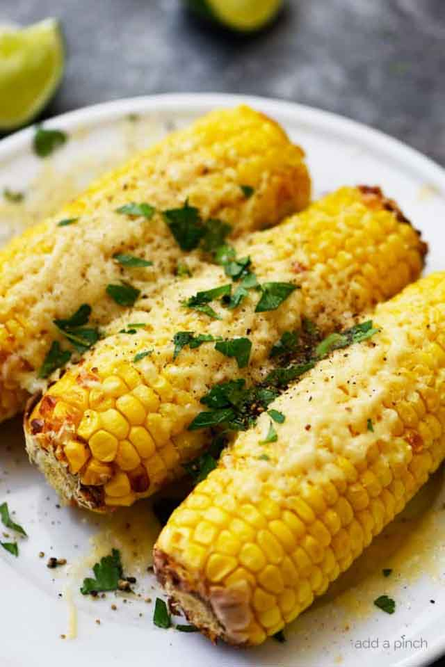 Air Fryer Mexican Street Corn Recipe