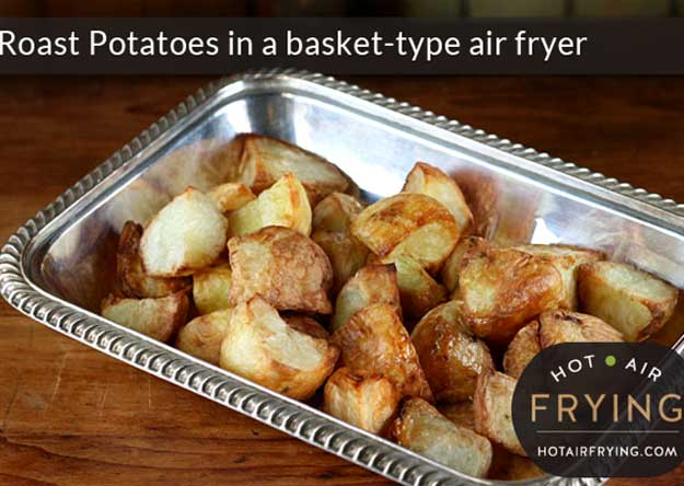 Air Fryer Roasted Ranch Potatoes Recipe
