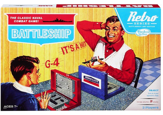 Battleship Retro Games Series 1967 Edition