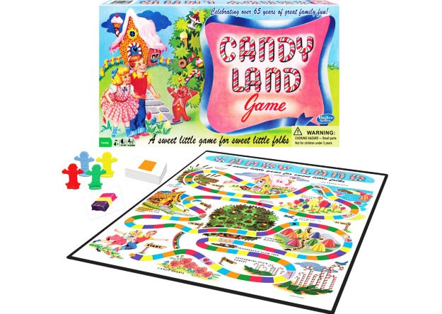 Candy Land 65th Anniversary Retro Game