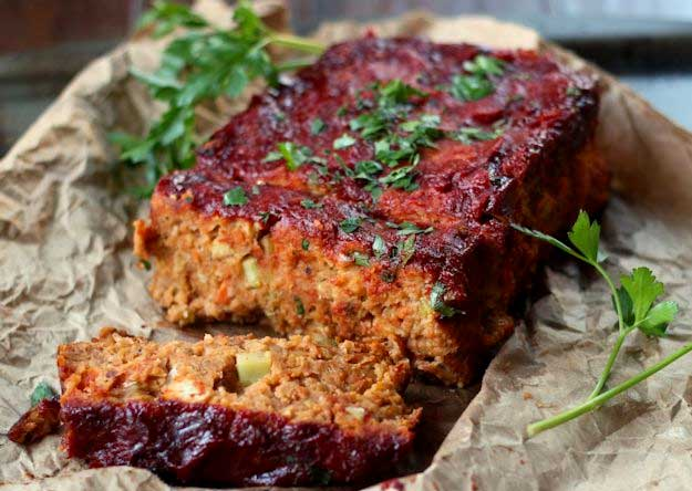 Chickpea Vegan Meatloaf Recipe