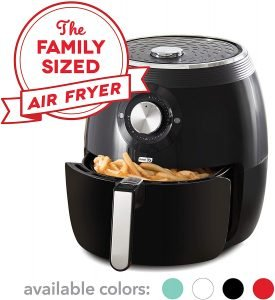 Dash DFAF455GBBK01 Deluxe Electric Air Fryer