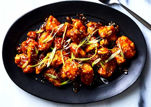 General Tso's Chicken Recipe in the Air Fryer