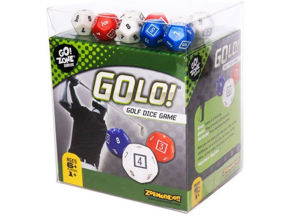 Golf Themed Dice Game