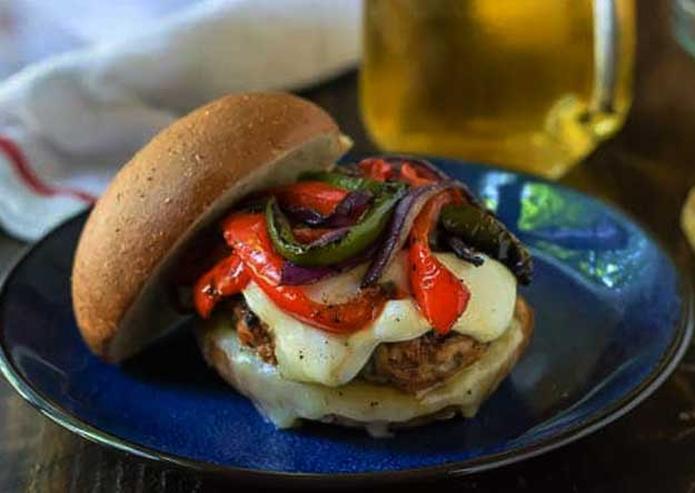 Italian Turkey Burger