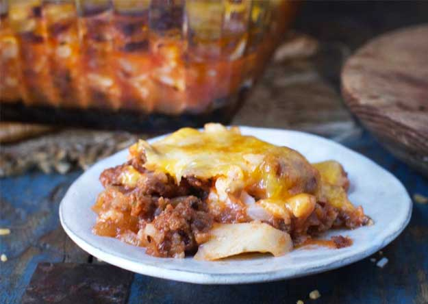 Keto Italian Ground Beef Casserole Recipe
