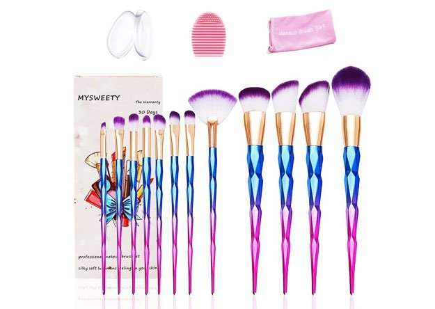 MYSWEETY Makeup Brushes Set