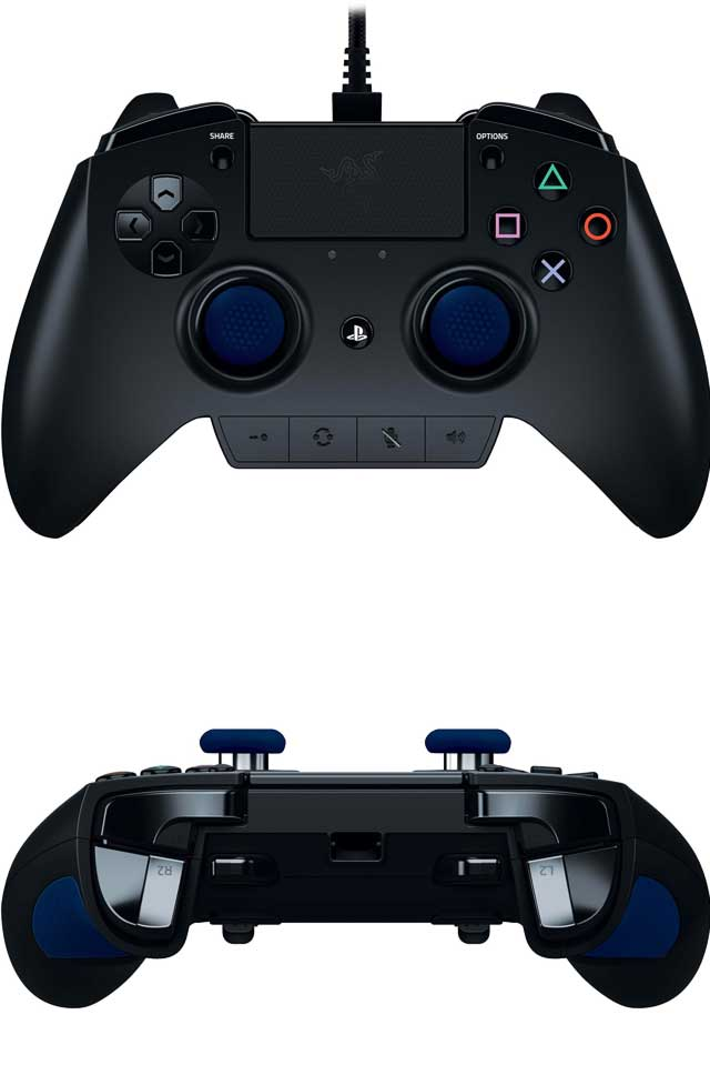 Razer Raiju - Fully-Programmable Next-Gen Premium Gaming Controller for PS4