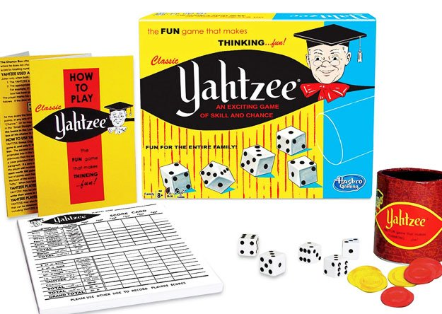 Retro Games Classic Yahtzee, An Exciting Game Of Skill And Chance