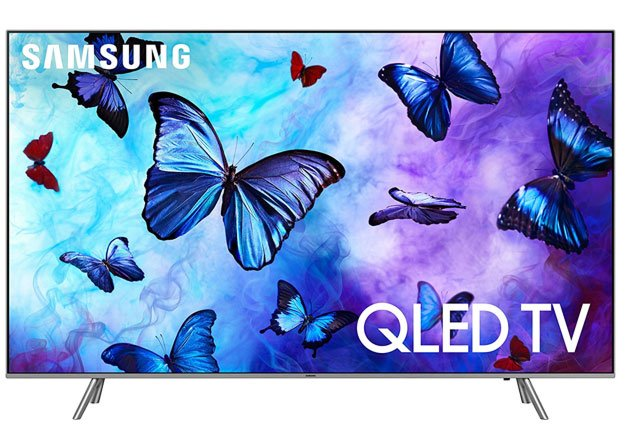 "Samsung QN82Q6 Flat 82"" QLED 4K UHD 6 Series Smart TV"