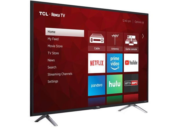 TCL 49S405 49-Inch 4K Ultra HD Roku Smart LED TV