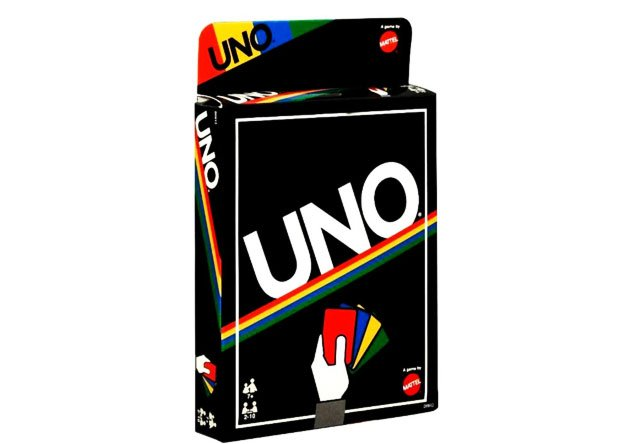 UNO Card Game - Retro Games Edition by Mattel