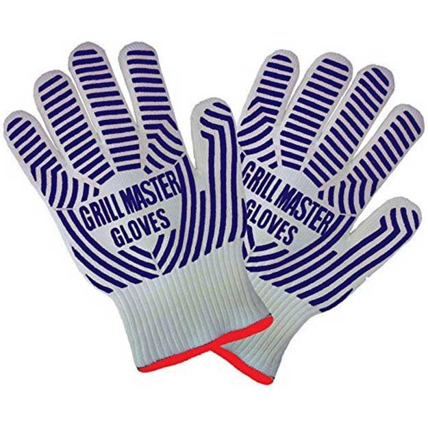 Extreme Heat Resistant Grill Master BBQ Gloves