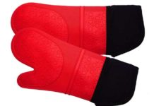 Fireproof Oven Mitts: High Temperature Heat Resistant Oven Gloves
