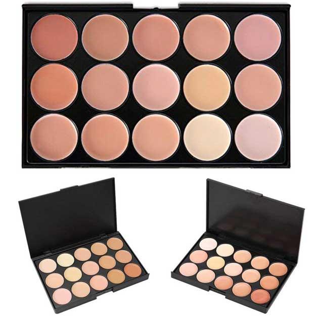 KRABICE 15 Color Makeup Dark Circle Concealer