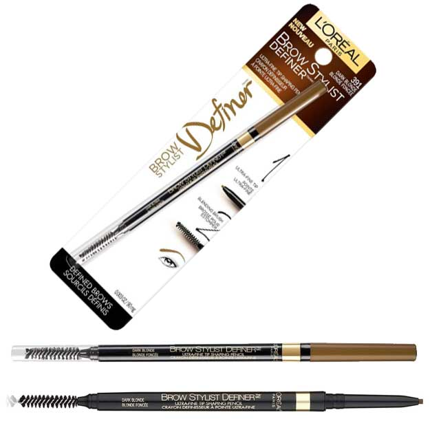 L'Oréal Paris Makeup Brow Stylist Definer Waterproof Eyebrow Pencil