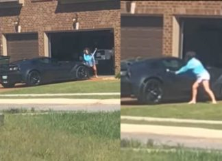 Revenge Is Sweet: Furious Woman Destroys Her Husband's Corvette