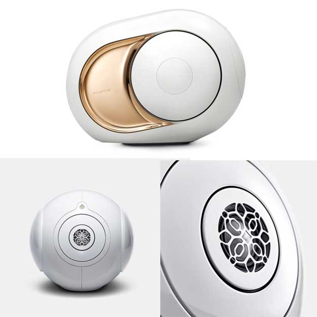 Devialet Gold Phantom - High-end wireless speaker - 4500 Watts - 108 dB