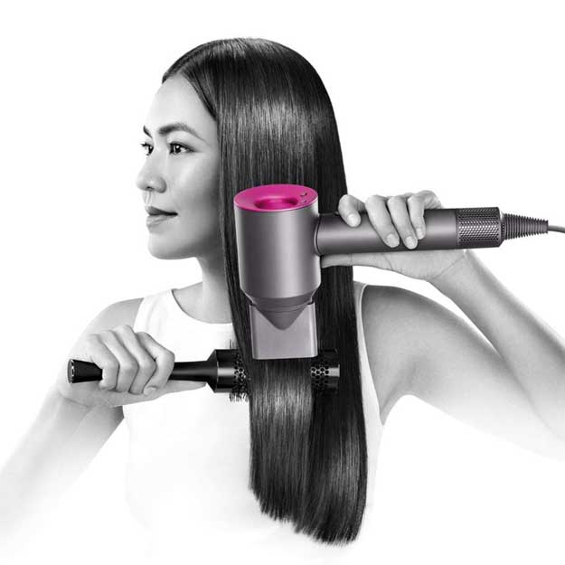 Dyson Supersonic Hair Dryer Iron Fuchsia