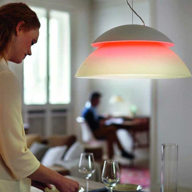 Philips Hue Beyond Dimmable LED Smart Pendant Light