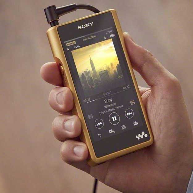 Sony NWWM1Z Signature Series Hi-Res Walkman