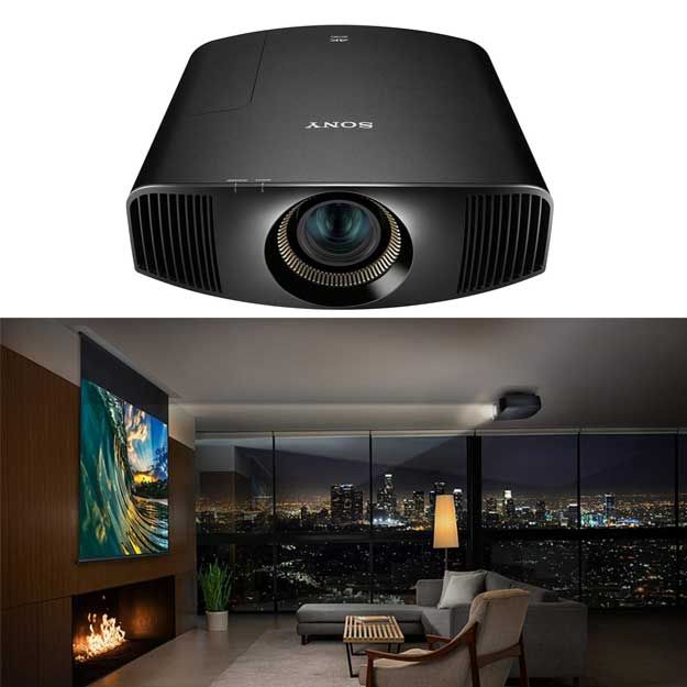 Sony VPLVW385ES 4K HDR Home Theater Video Projector