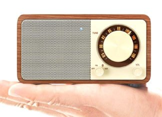 Sangean Genuine Mini Wr-7 - A Digital Radio For Home And On The Go
