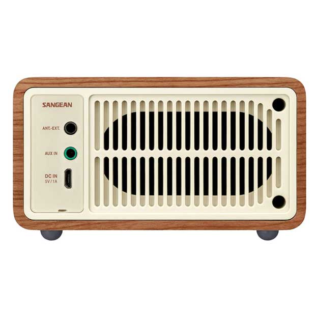 Sangean WR-7WL Wood Cabinet Mini Bluetooth Speaker