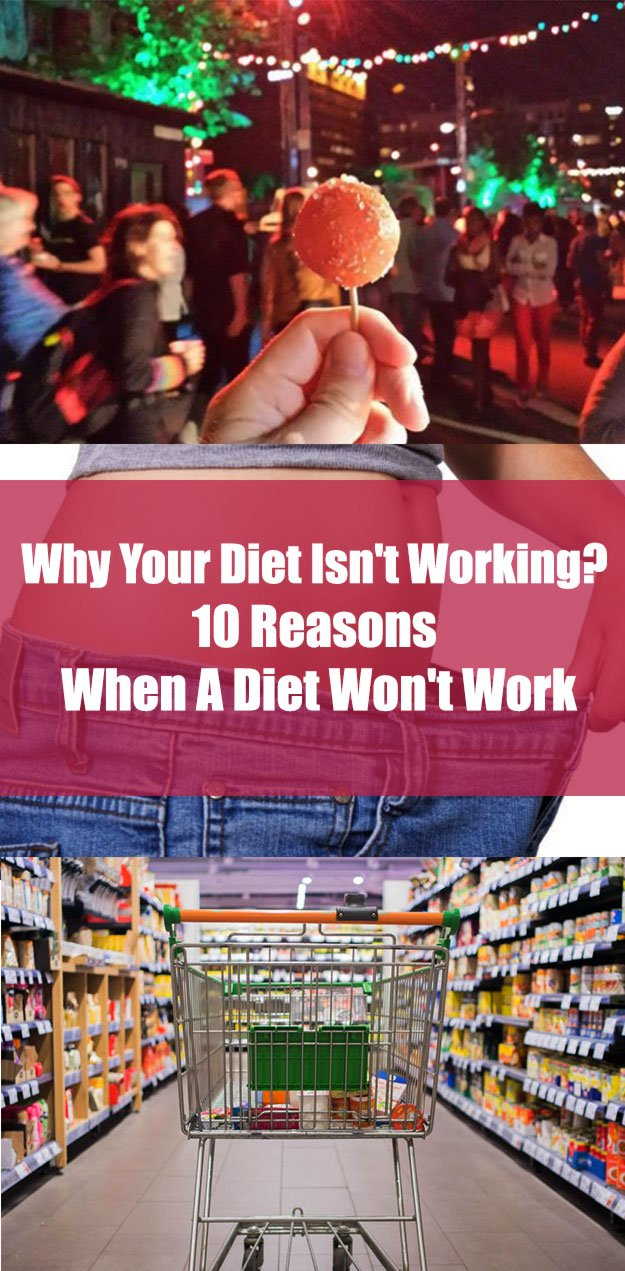 Why Your Diet Isn't Working?