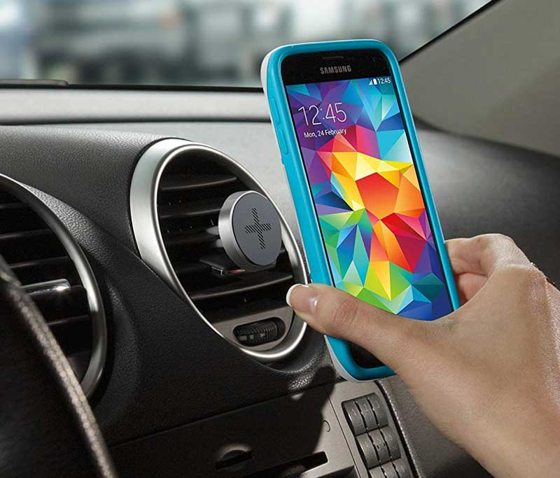 One-Touch Smartphone Car Mount