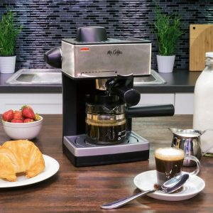 Mr. Coffee 4-Cup Steam Espresso System with Milk Frother