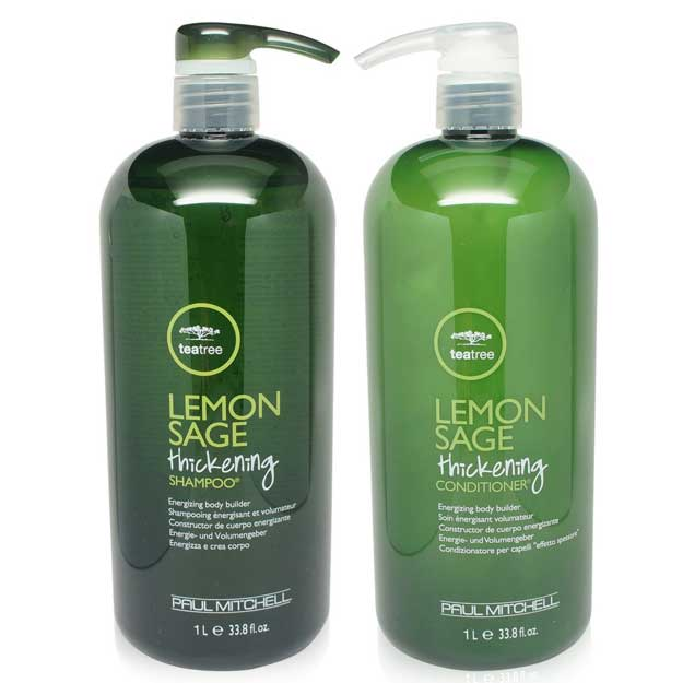 Tea Tree Lemon Sage Thickening Shampoo and Conditioner Set