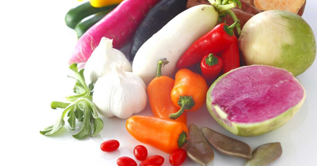 Against Stress Eat Plenty Of Vegetables Fruits And Garlic
