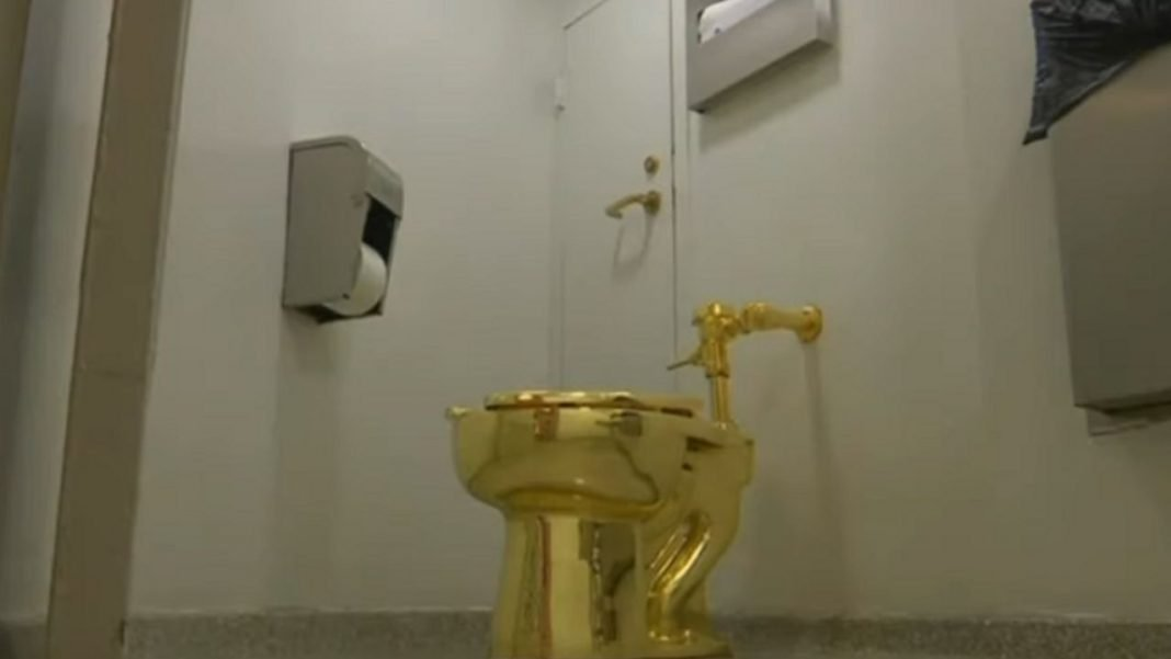 Gold Toilet Stolen From A British Castle