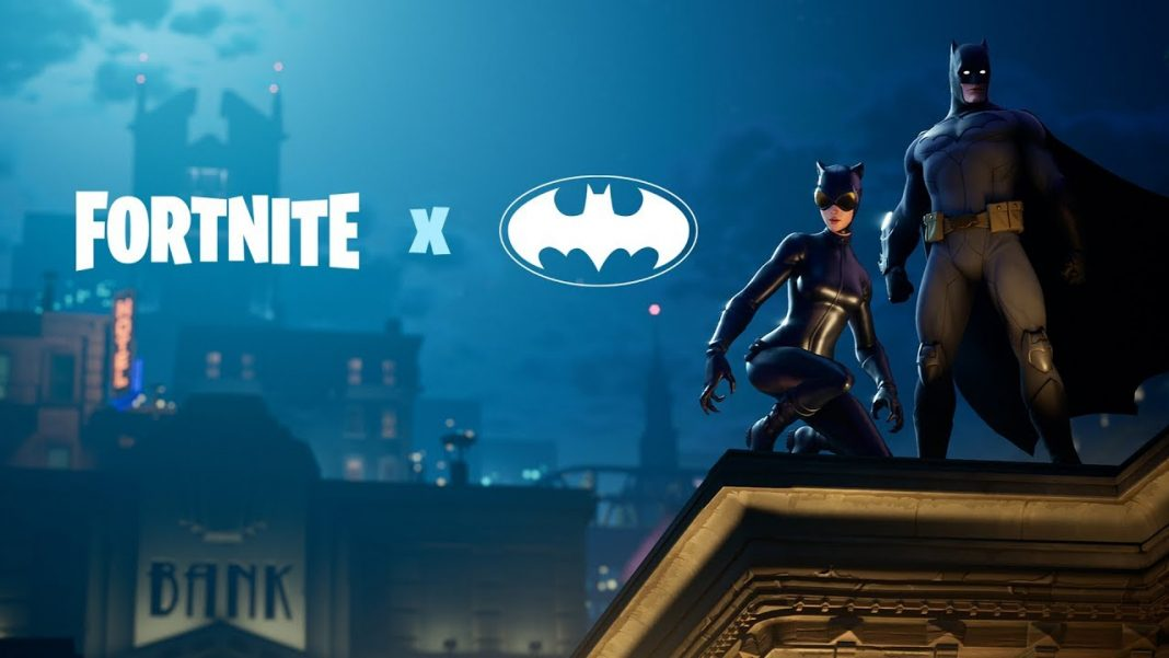 Batman Fortnite Theme - Watch The Fortnite X Batman Announce Trailer Video! The New Event in Fortnite is a Batman Crossover with matching Skins and more.