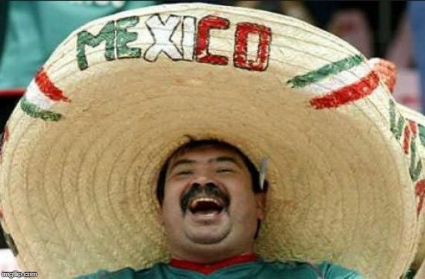 A Mexican magician told his audience he was going to vanish on the count of three