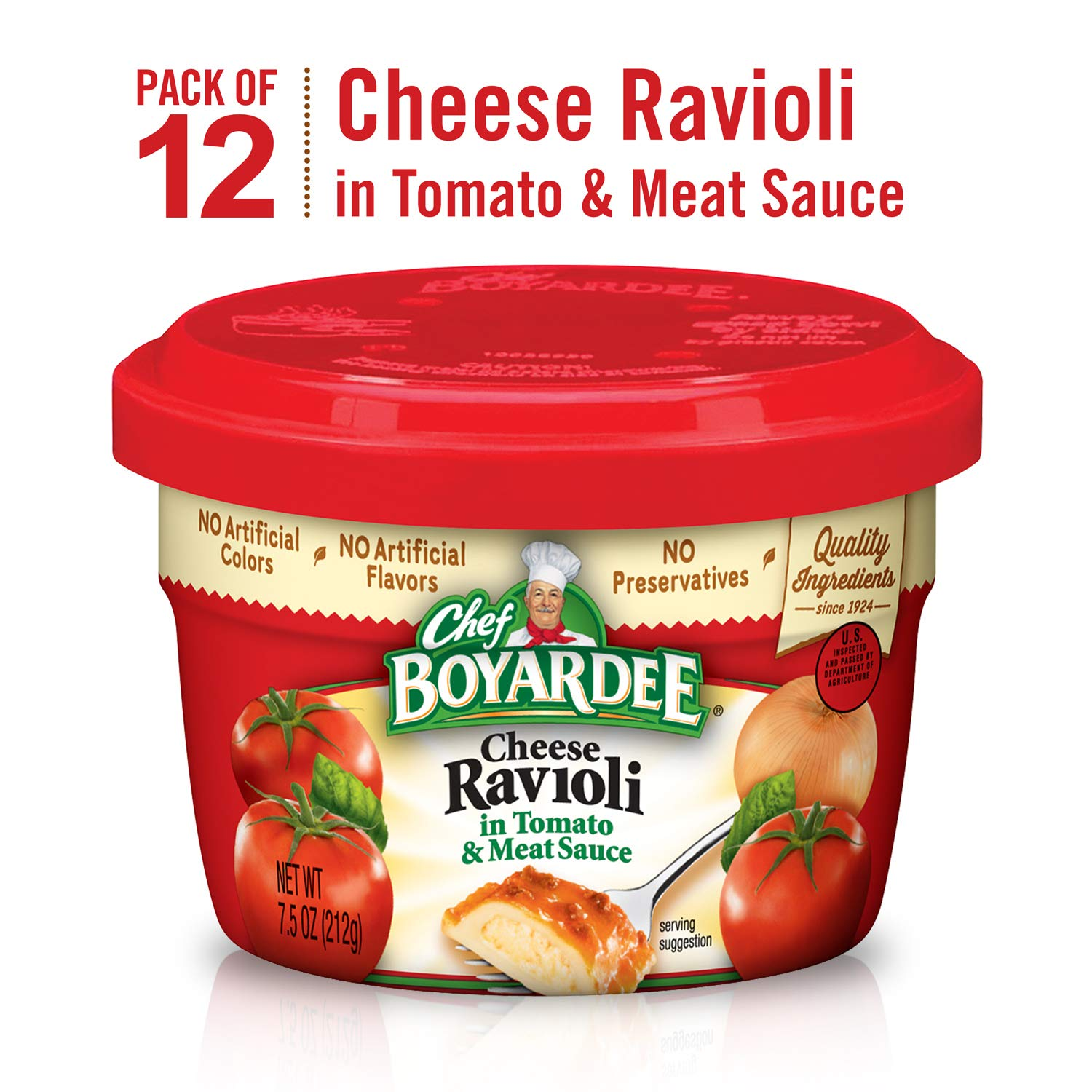 Chef Boyardee Cheese Ravioli Microwavable Meal Bowl