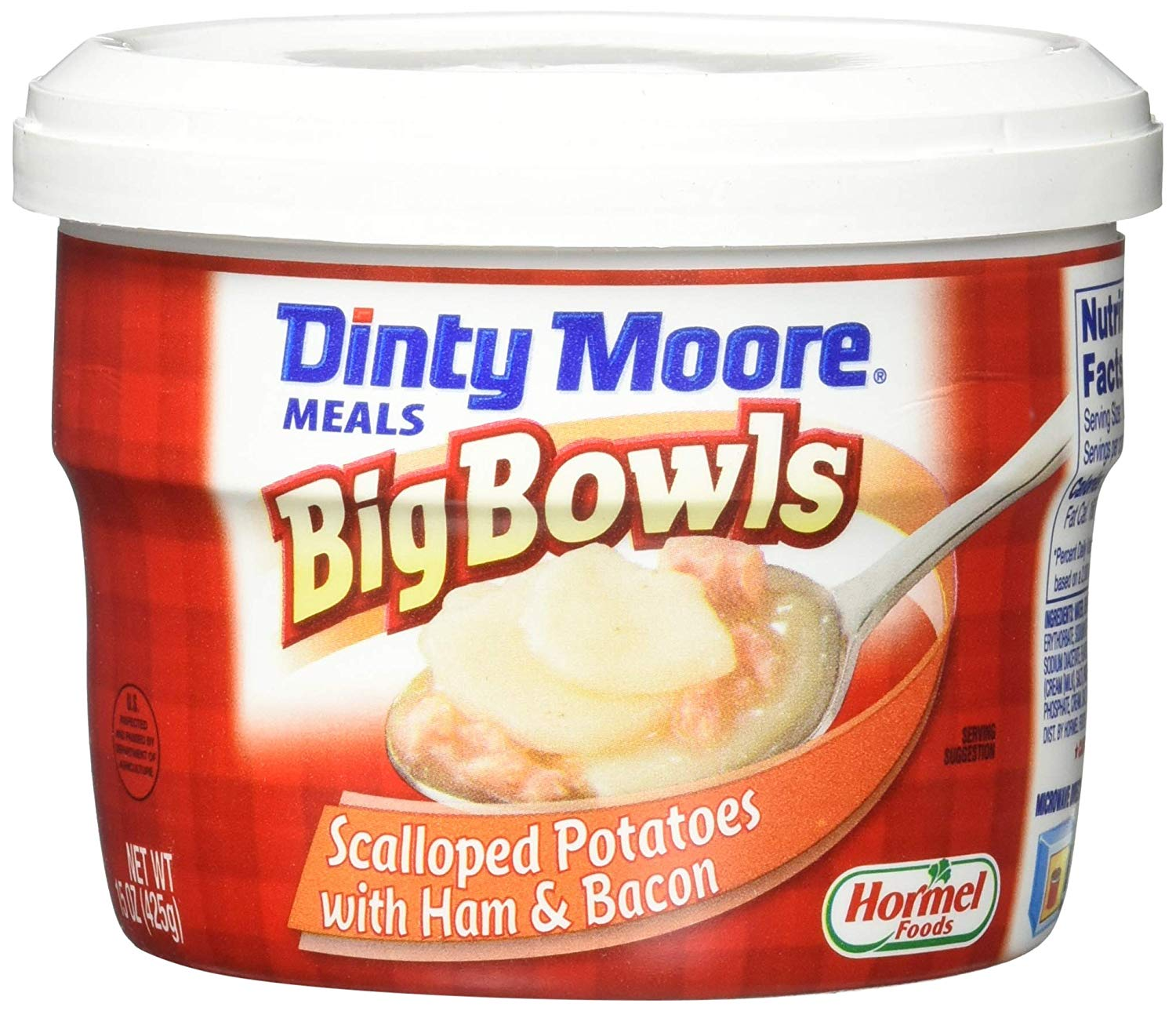 DINTY MOORE Scalloped Potatoes and Ham Big Microwaveable Bowl