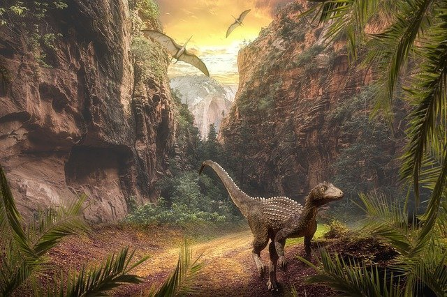 Dinosaurs existed