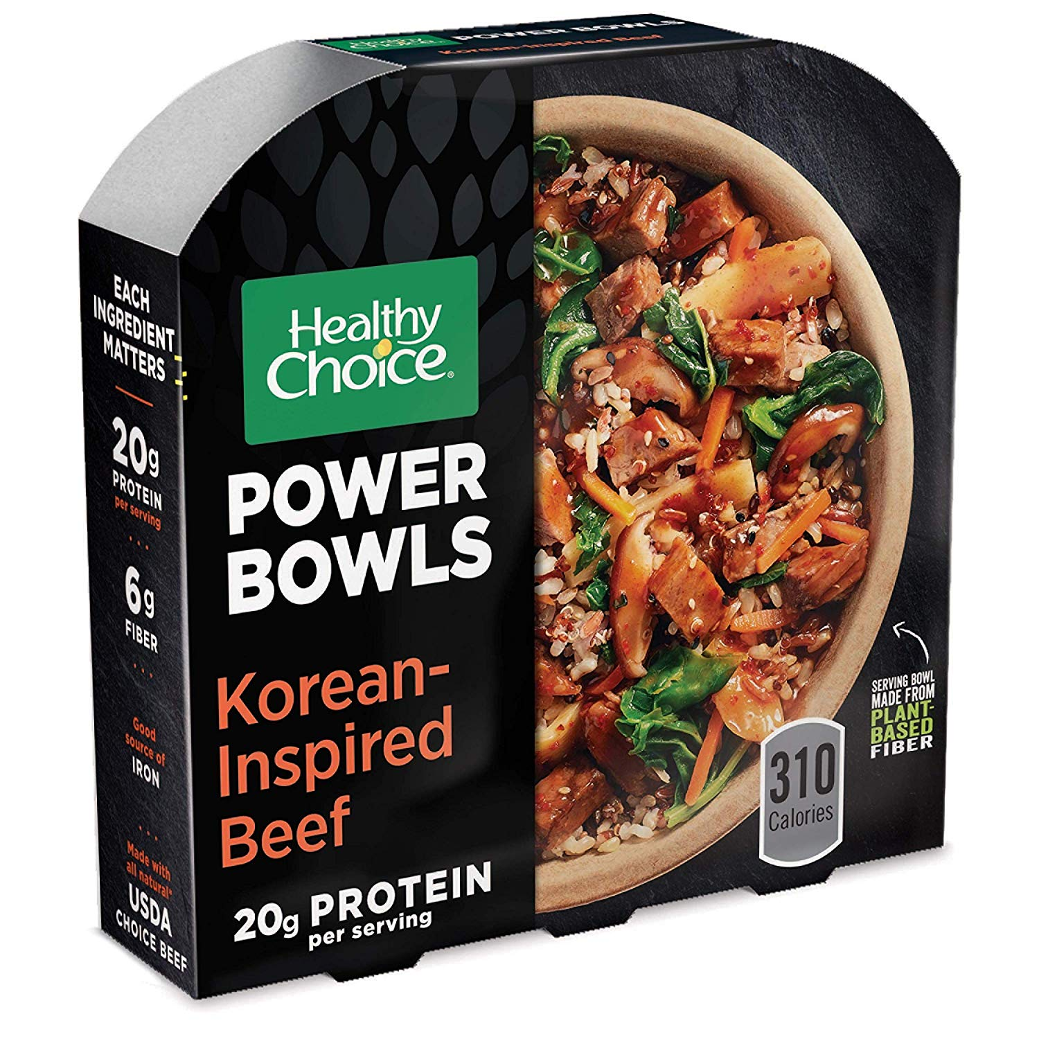 Healthy Choice Power Bowls Frozen Dinner Korean-Inspired Beef Bowl