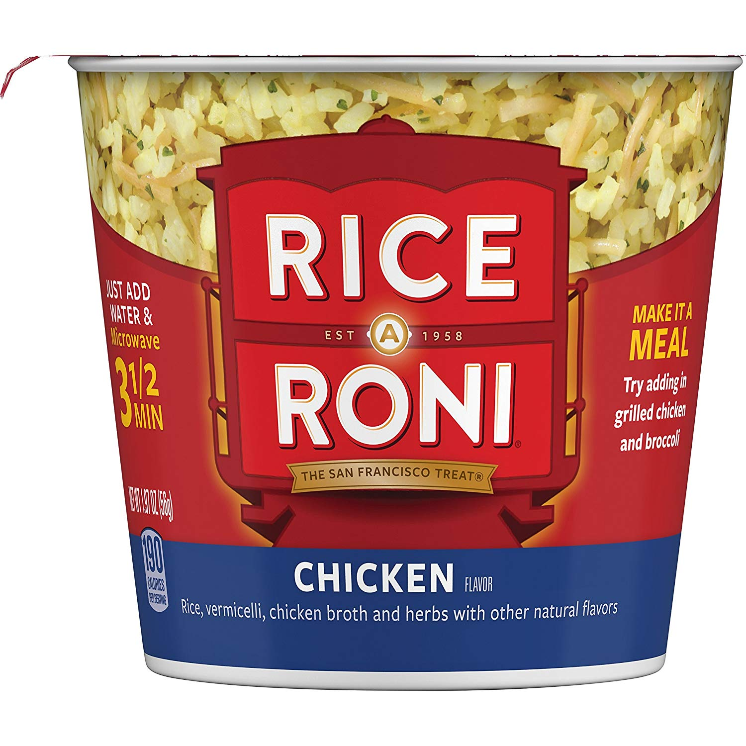 Rice a Roni Cups Chicken