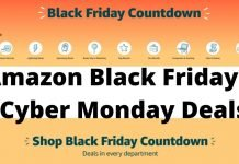 Amazon Black Friday and Cyber Monday 2019