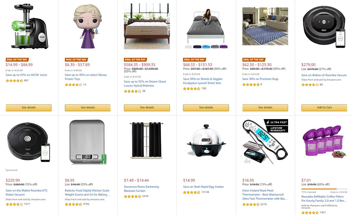 Deals on Home