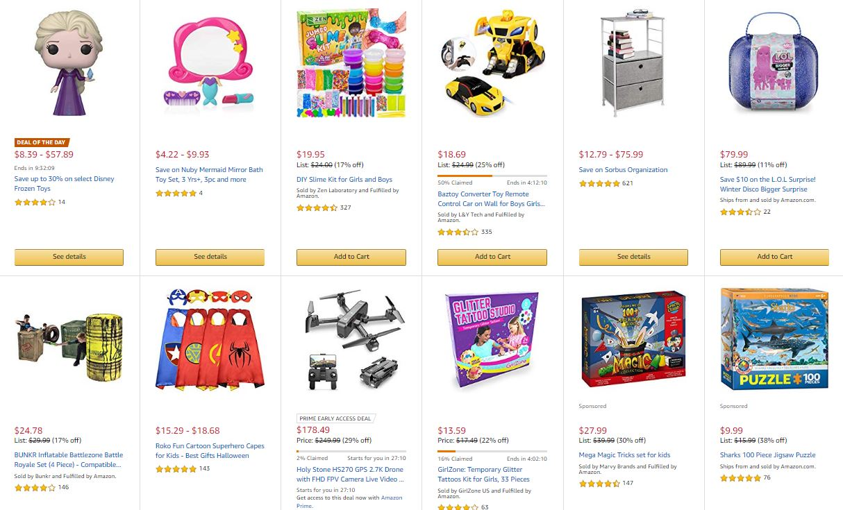 Deals on Toys and Games