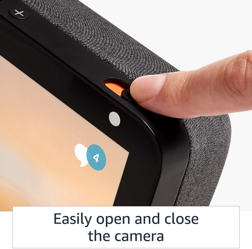 Echo Show 8 Easly Open and Close Camera