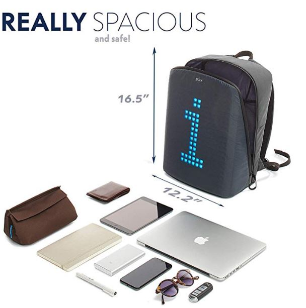 Size of Pix Backpack