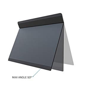 attached external stand on a laptop with 50 angle