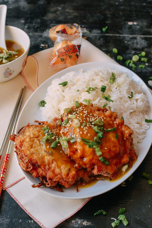 Healthy Chicken Egg Foo Young