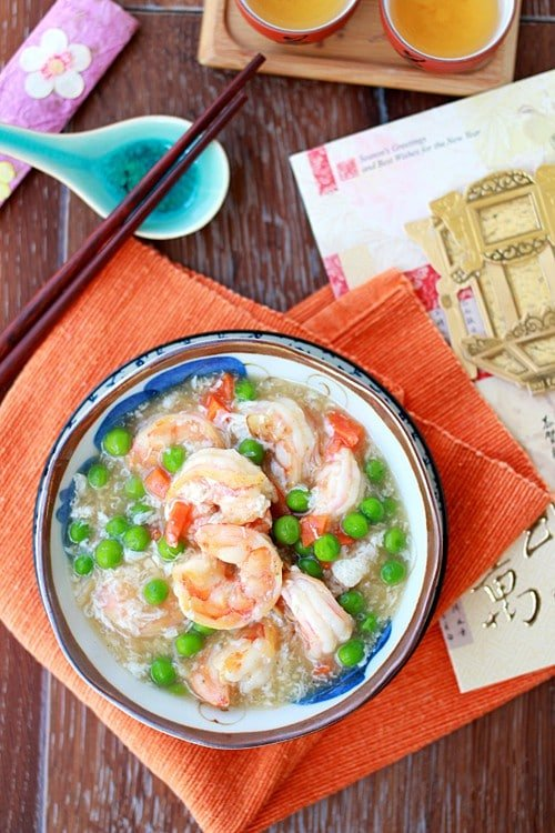 Healthy Shrimp With Lobster Sauce
