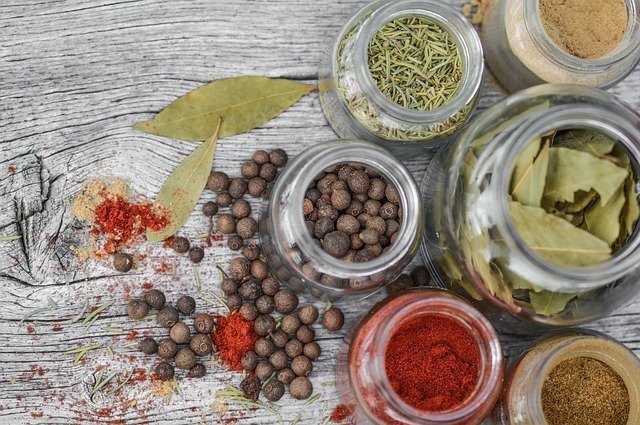 Potassium containing herbs and spices for vegans